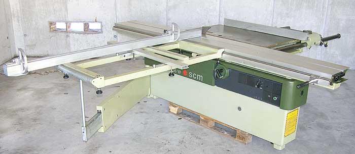 SCM Formatkreissäge schwenkbar 45° Mod. SI 16 WA