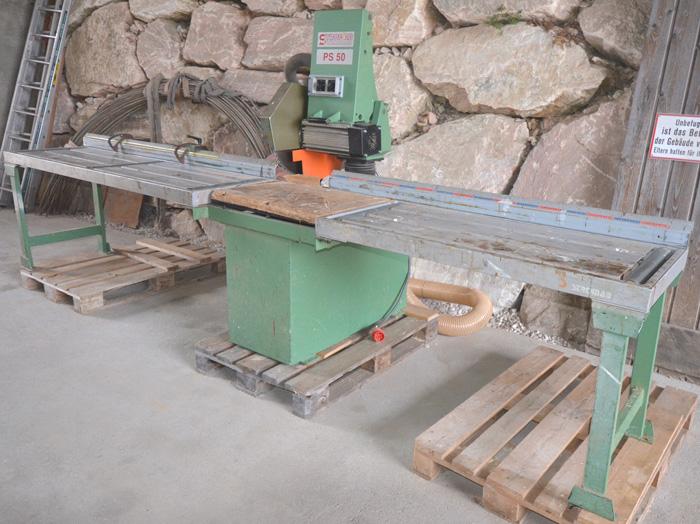 STROMAB Pendelsäge- schwenkbar, Schnitthöhe 145 mm, Mod. PS 50
