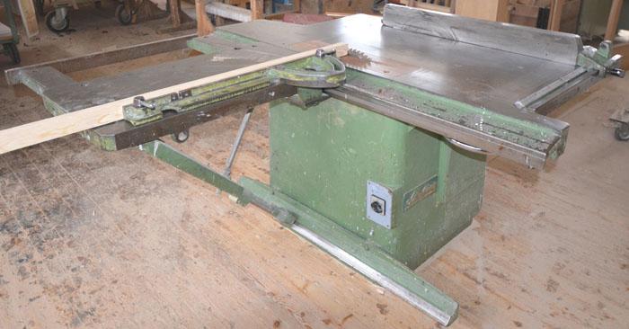 SCHELLING Hochleistungs- Tischkreissäge Mod.SK 45