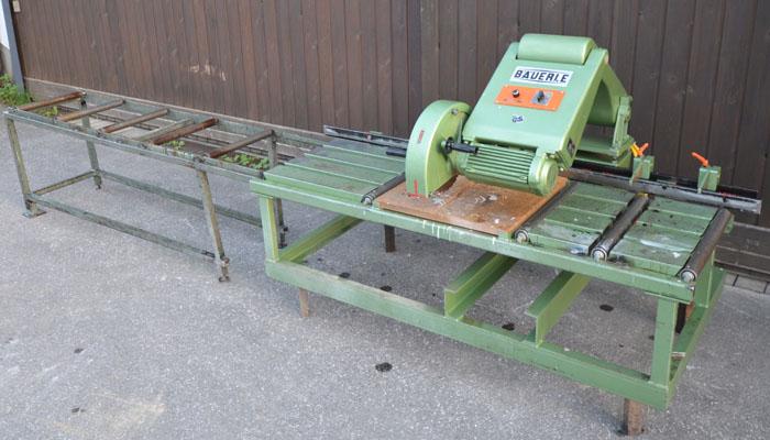 BÄUERLE Pendelsäge- Schnitthöhe 145 mm, Mod.