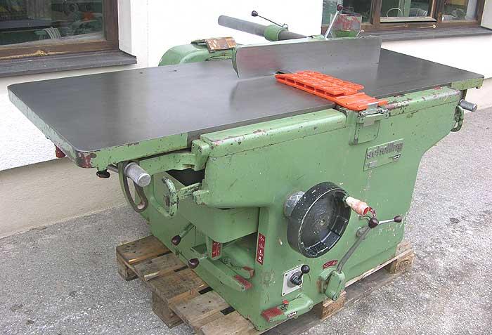 SCHELLING Kombinierte Abricht-, Füge- und Dickenhobelmaschine Mod. ADH 650