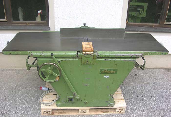 SCHELLING Kombinierte Abricht- und Dickenhobelmaschine Mod. ADH 610(ohne Tische)