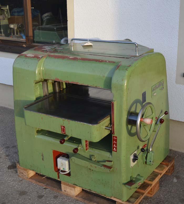SCHELLING Dickenhobelmaschine Mod. D 66