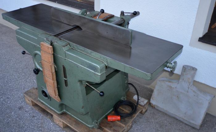 BÄUERLE Hochleistungs- Abricht- und Dickenhobelmaschine Mod. CHM 45