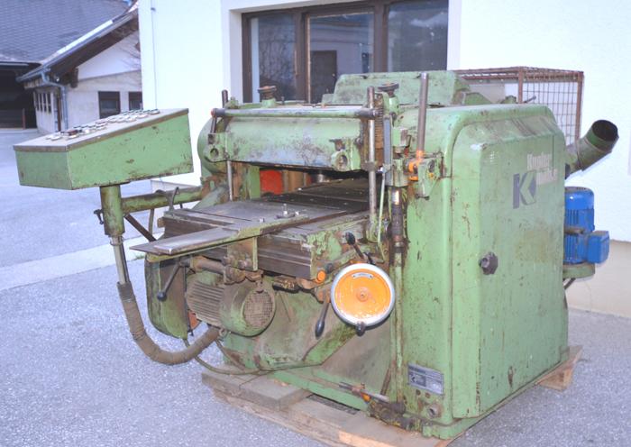 KUPFERMÜHLE 4 seit. Bauholzhobelmaschine Mod. VUIN 605