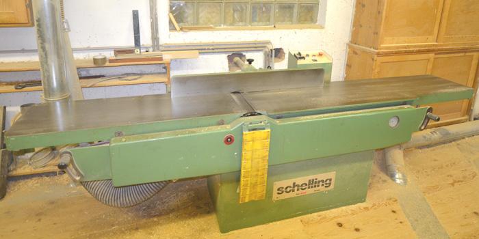 SCHELLING Abrichthobelmaschine Mod. AH - 410