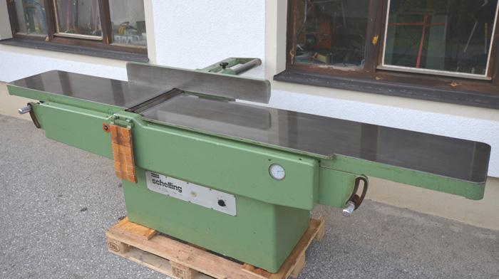 SCHELLING Abrichthobelmaschine Mod. A - 410