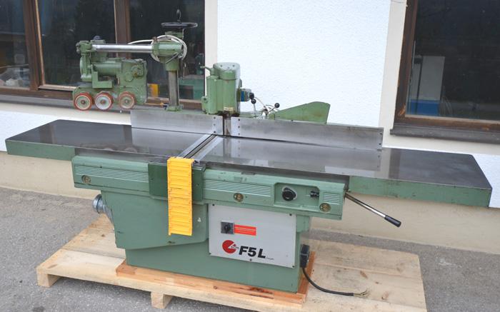 SCM  Winkelseitige arbeitende Abricht- Fügehobelmaschine Mod. F5L