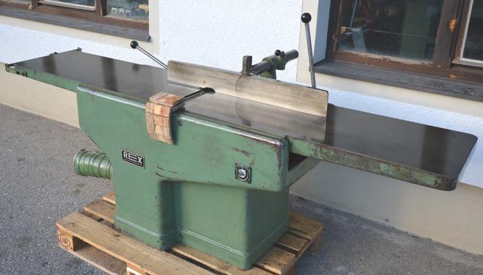 REX Abrichthobelmaschine Mod. A - 410
