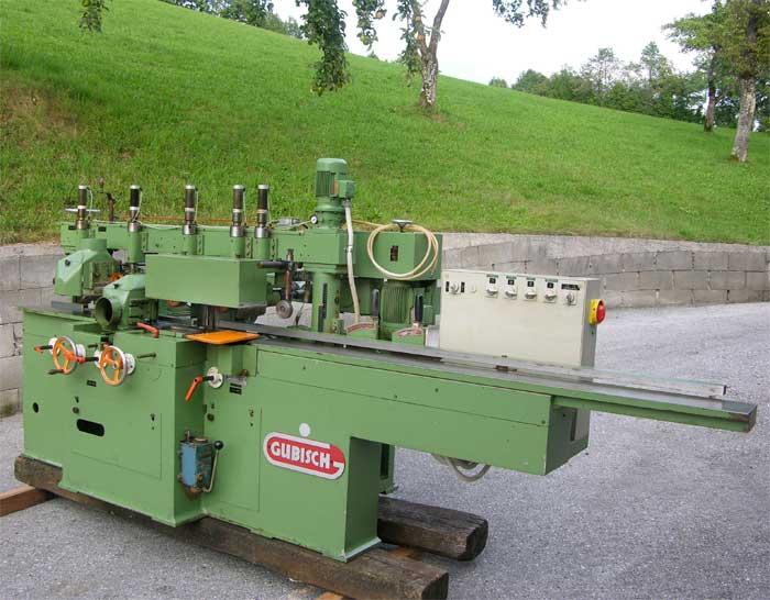GUBISCH Vierseitenhobelmaschine 5+1 universal Spindel Mod. M 172-4