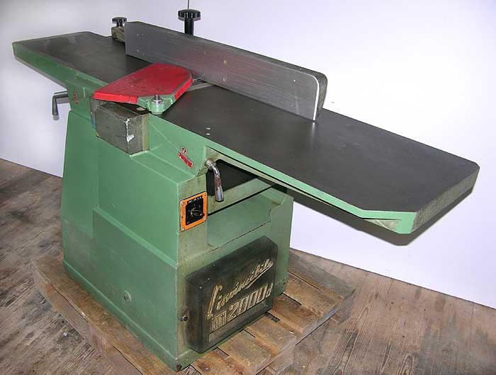SCM Kombinierte Abricht- u. Dickenhobelmaschine Mod. 2000 d FS