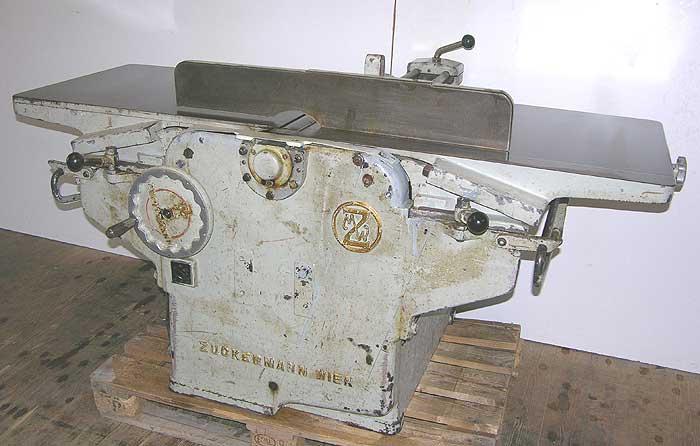 ZUCKERMANN Kombinierte Abricht- und Dickenhobelmaschine Mod.ADi 600