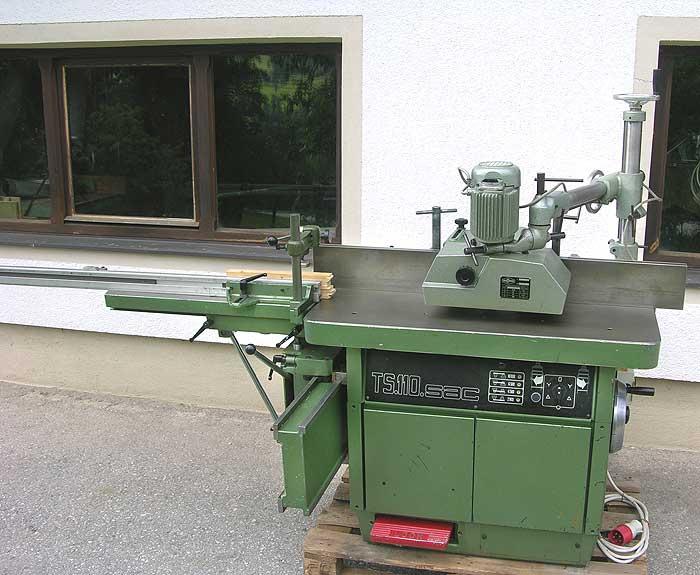 CASOLIN Fräsmaschine schwenkbar Mod. TX 160