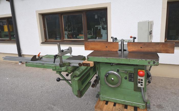 MARTIN Starr- Fräsmaschine m. Rolltisch Mod. T 21