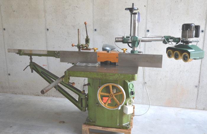 STEHLE Fräsmaschine m. Rolltisch Mod. St F2