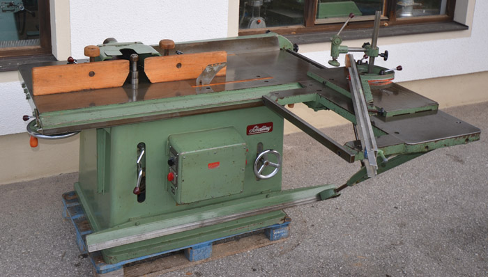 SCHELLING 2-fach Kombination Kreissäge- u. Fräse Mod S 300