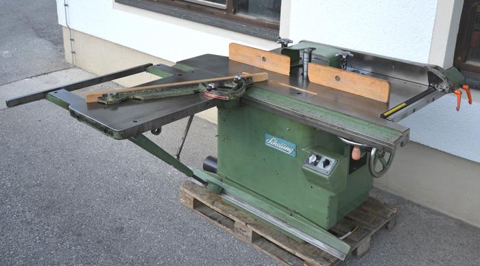 SCHELLING 2-fach Kombi, Kreissäge/Fräse schwenkbar, Mod. Super US 30