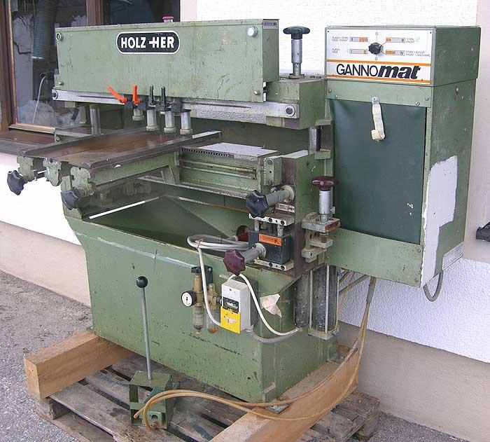 GANNOMAT Dübellochbohrmaschine Gannomat Mod. KR 800/1615