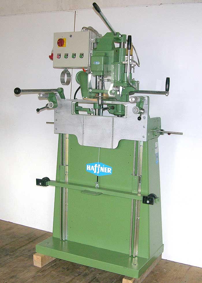 HAFFNER Kettenfräs und Schloßeinlaßmaschine Mod. L 402