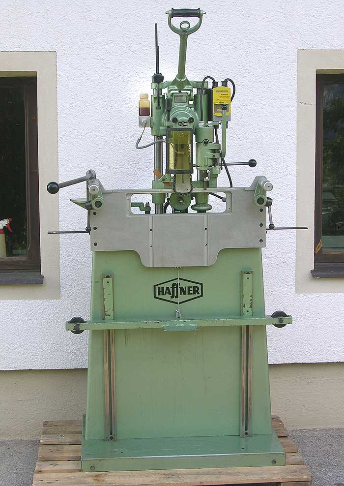 HAFFNER Kettenfräs und Schloßeinlaßmaschine Mod. SL 100