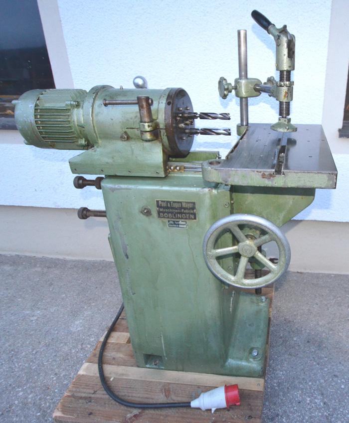 PAUL & EUGEN MAYER Dübelbohrmaschine m. 5 Bohrspindel Mod. MBBF