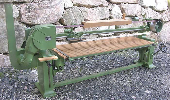 LANGZAUNER Langbandschleifmaschine Mod. LZG 700-1400