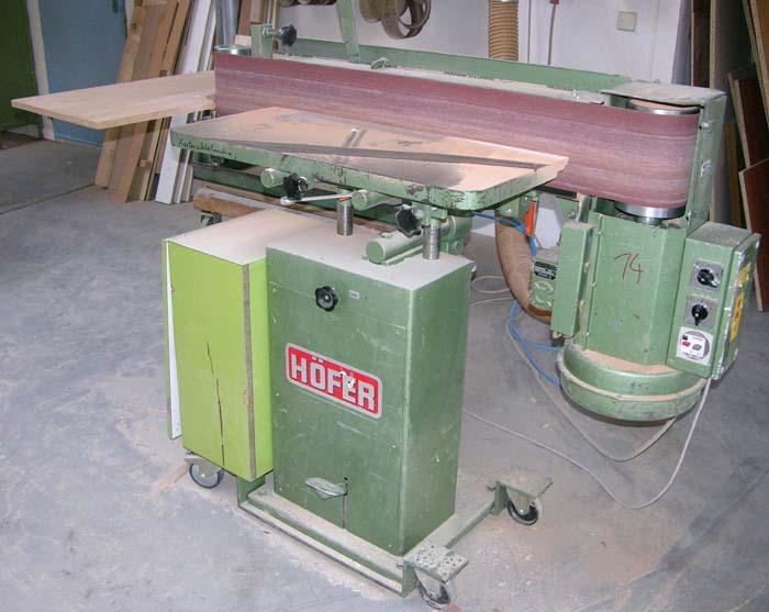 HÖFER Kantenschleifmaschine Mod. BSM IV