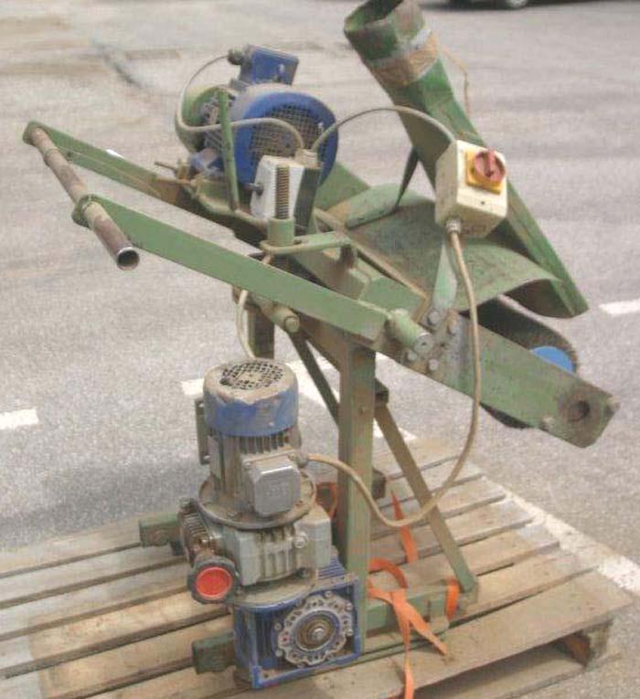 Balkenbürst- Strukturiermaschine, Schinenlänge 7 m