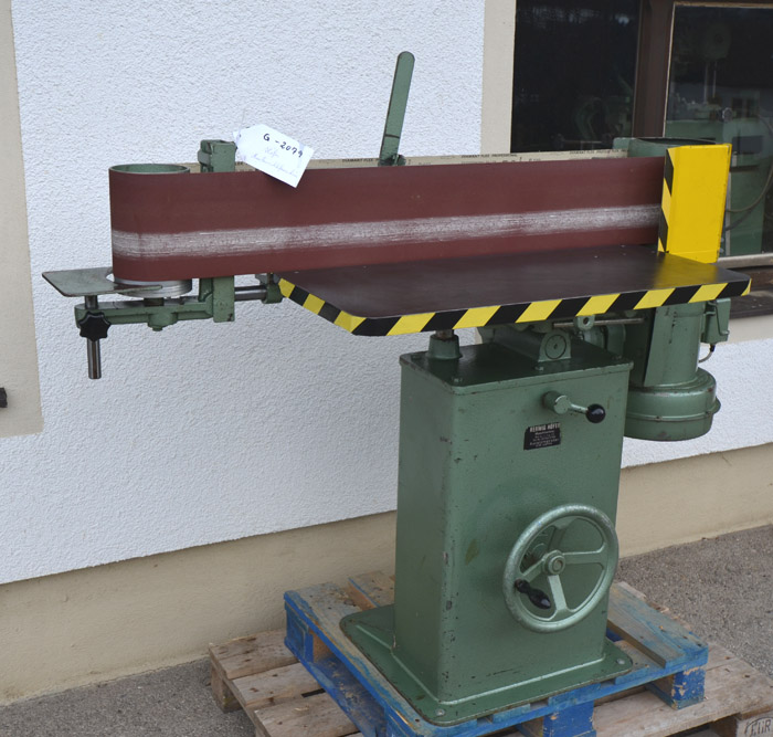 HÖFER Kantenschleifmaschine Mod. BBM IV