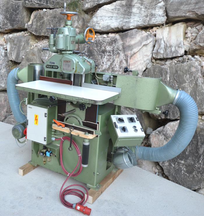 HÖFER Doppelseitige Kantenschleifmaschine Mod. BSM- Vpm pneuma