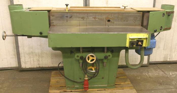 CARSTENS Doppelseitige Kantenschleifmaschine m. Oszillation