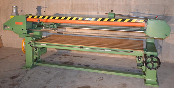LANGZAUNER Langbandschleifmaschine Mod. LZG 1000/1400