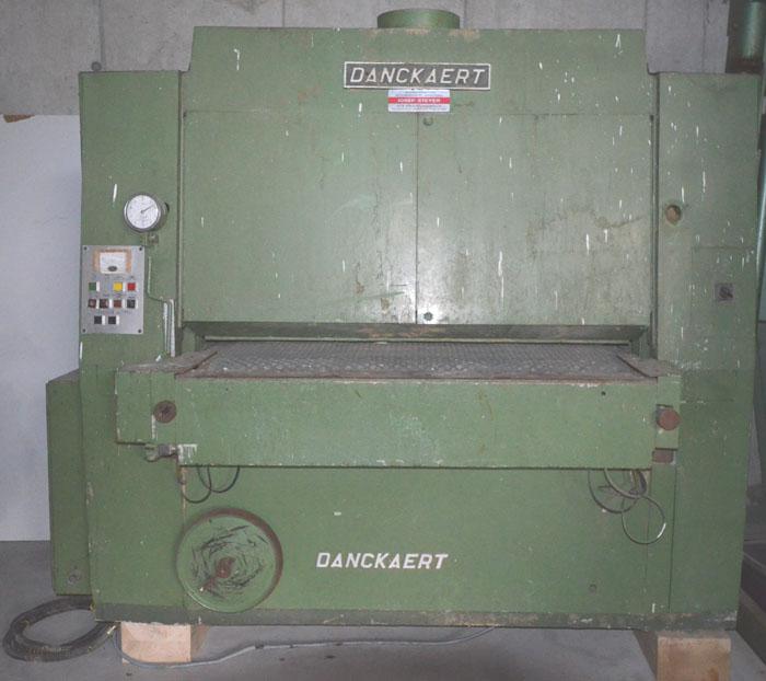 DANCKAERT Breitbandschleifmaschine, Schleifbreite 1320 mm
