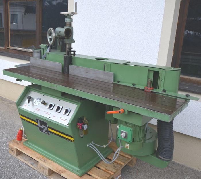 LANGZAUNER Doppelseitige Kantenschleifmaschine Mod. LZK- SF