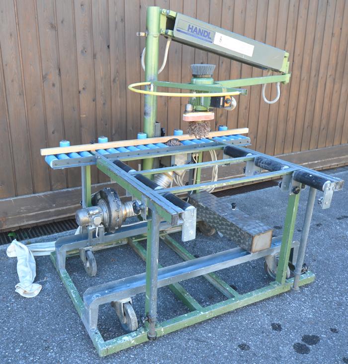 LÖWER Rahmen- Polier- u. Finishaggregat (Putzmaschine) Mod. PM 85