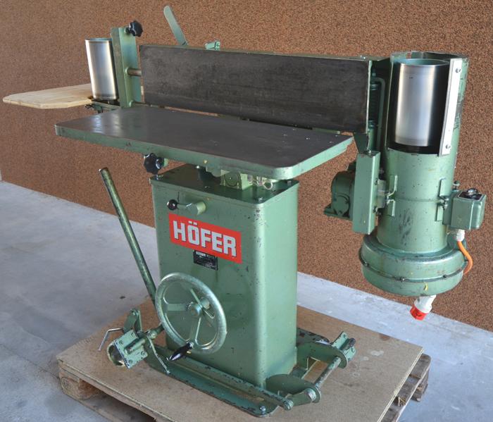HÖFER Kantenschleifmaschine m. Oszillation Mod. BSM IV