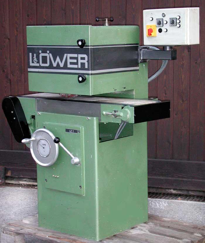 LÖWER Leistenschleif und Bürstmaschine Mod. LZ 1