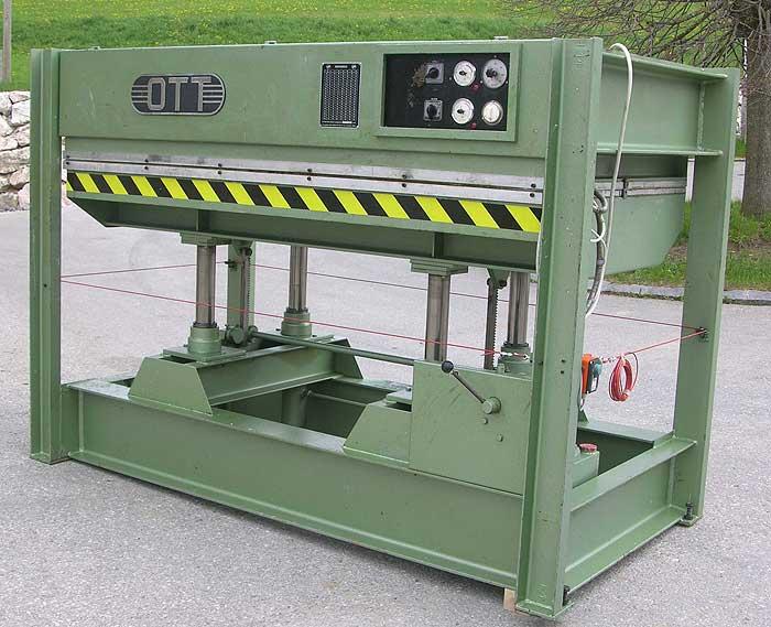 OTT Heizplattenpresse, elektrisch beheizt Mod. JU 65