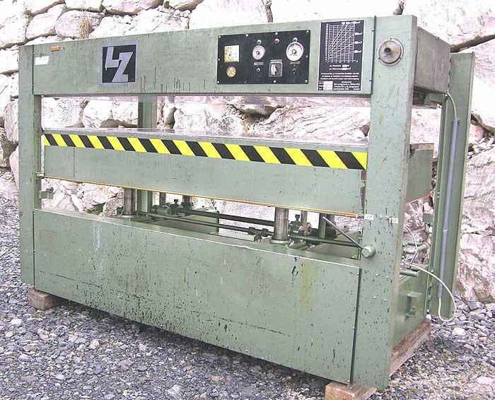 LANGZAUNER Heizplattenpresse, elektrisch beheizt Mod. LZT 50