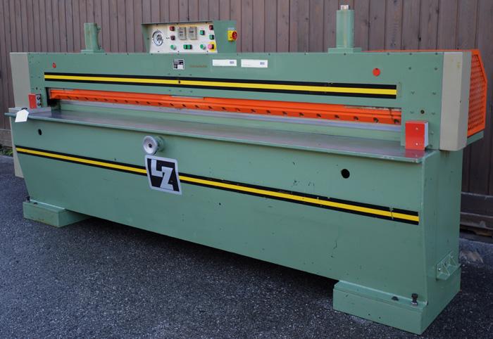 """LANGZAUNER Furnierpaket Schneidemaschine Mod. FPS 3100 """"Hydromatic"""""""