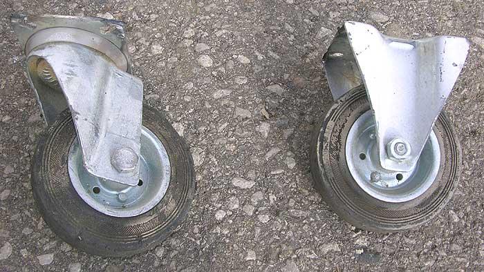 LAG Vollgummi- Transportrollen Tragkraft je 100 kg