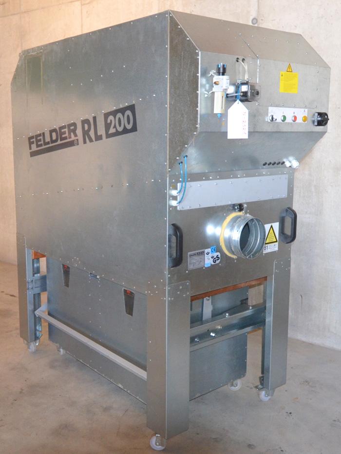 FELDER Mobiles Reinluft- Absaugunggerät Mod. RL 200 Automatic