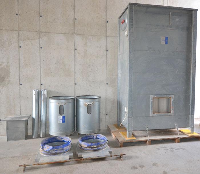 LBH Absaugfilteranlage mit 3,0 kW integrierten Radialventilator