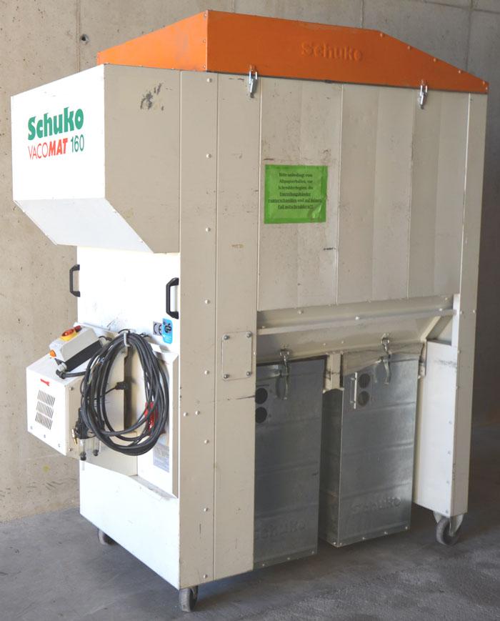 SCHUKO Fahrbares Reinluft- Absaugunggerät Mod. Vacomat 160p