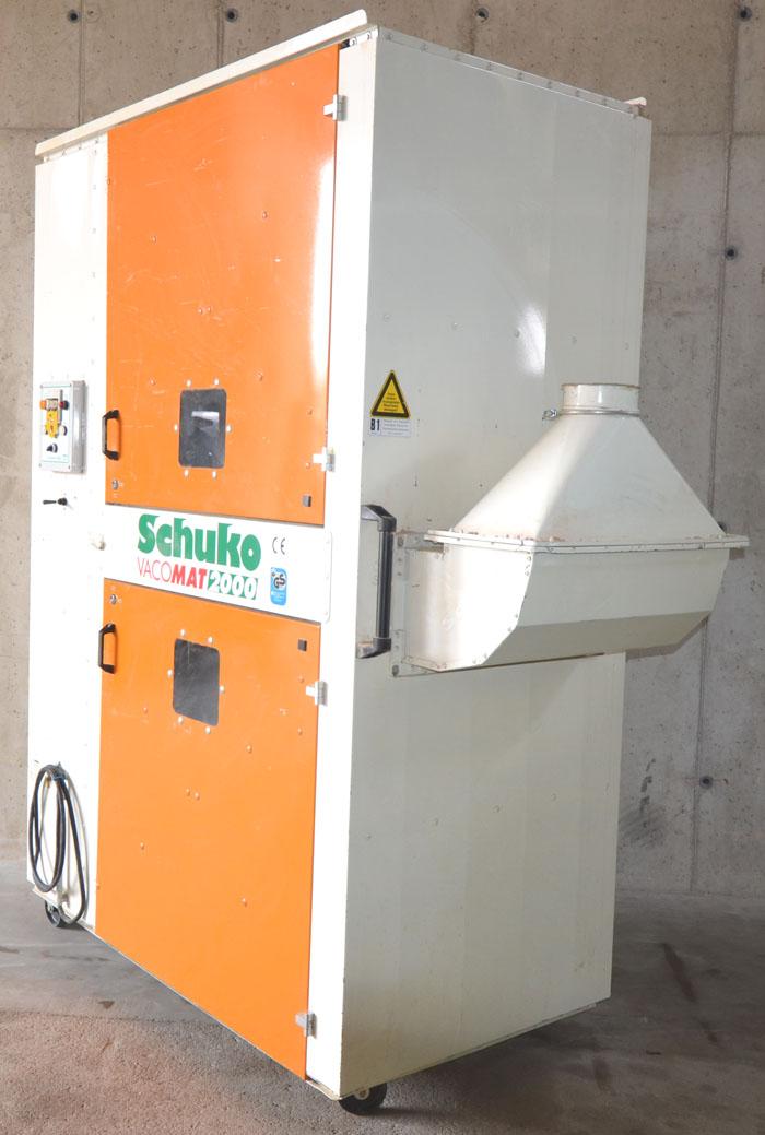 SCHUKO Fahrbares Reinluft- Absaugunggerät Mod. Vacomat 2000- Entstauber