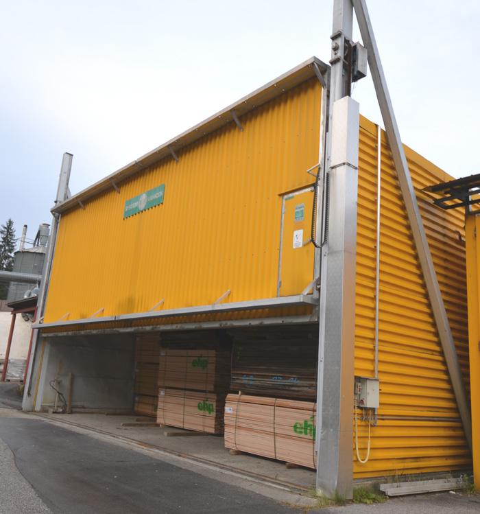 VANICEK Holztrocknungsanlage Nutzinhalt 54 m3